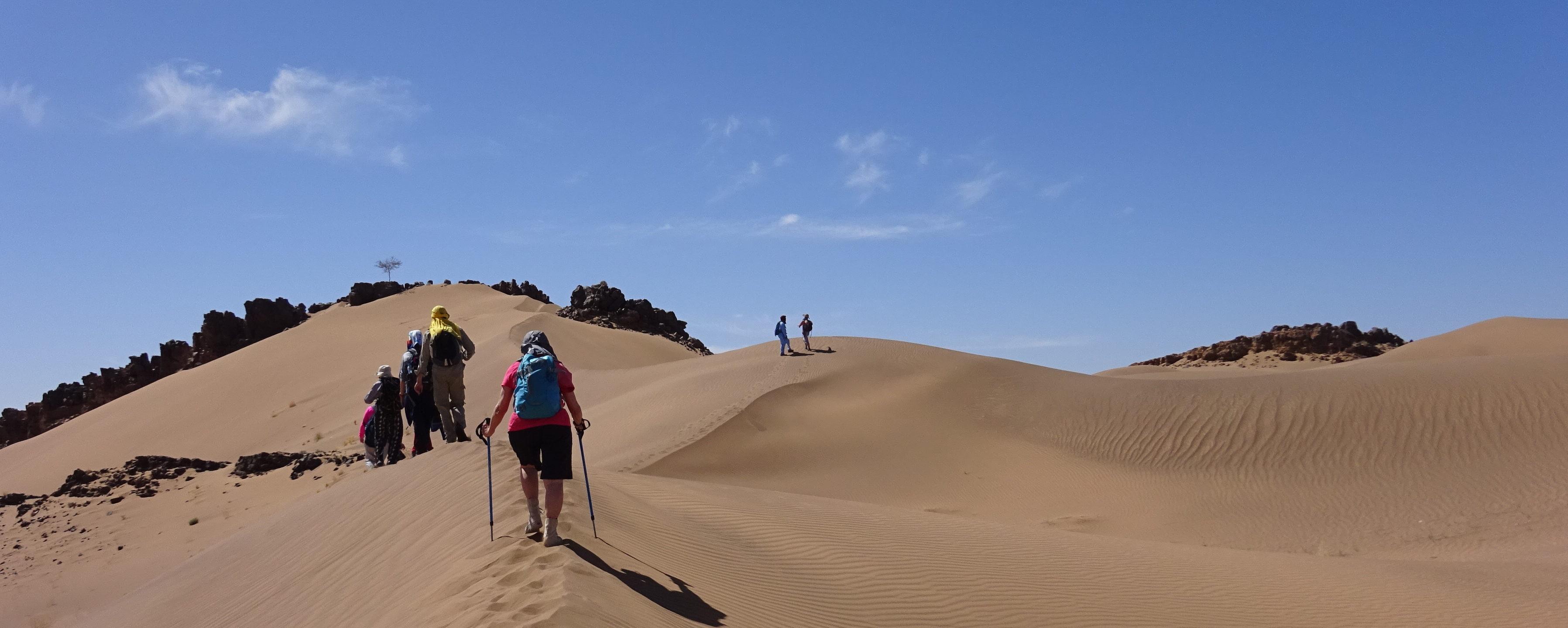 NOUVEAU TARIF ! Des pas dans le désert, vers soi et vers les autres